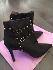Lodi Rubrica Ankle Boots (Queen Black-Gold) Size Uk 5 Eu 38