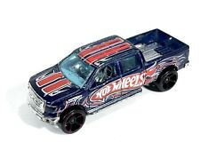 Hot Wheels 2009 Ford F-150 Pickup Truck 11/190 Blue Metal Flake Base Malaysia