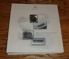 2001 Mercedes-Benz News Media Information Press Kit Album Binder 01