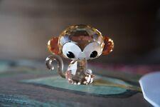 Swarovski Zodiac Monkey Kiki Lovlots Flower Violet Crystal Figurine MIB 5004619