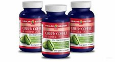 GREEN COFFEE EXTRACT CLEANSE Super Antioxidant Green Coffee Bean Extract 3 Bot
