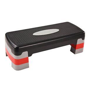 "Stamina 3-Level Aerobic Step Deck , Adjustable to 4""-6""-8"""