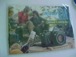 Nikon EM instructions manual