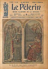Retable de l'Agneau Mystique Cathédrale Saint-Bavon à Gand 1920 ILLUSTRATION