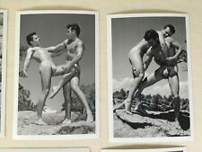 Male Nude Collection, Western Photography Guild, Wrestling Series, Gay Interest