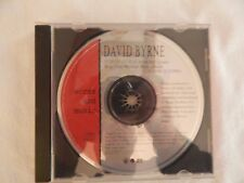 "David Byrne ""Words and Music"" PROMO ONLY CD!BRAND NEW! ONLY NEW COPY ON eBAY!"