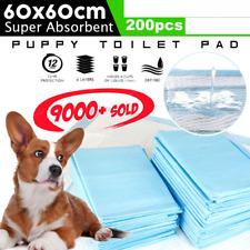 Puppy Pet Dog Indoor Cat Toilet Training Pads Absorbent 60x60cm x 200 pcs