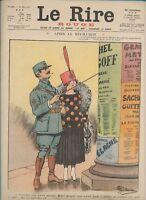 Journal Le RIRE Rouge, édition de guerre N° 130 du 12 mai 1917