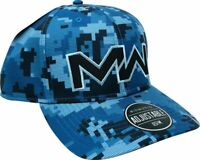 OFFICIAL Call Of Duty Modern Warfare NAVAL DIGITAL Camo Snapback Hat -NEW & RARE