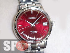 Seiko Presage Red Dial Automatic Bracelet Ladies Watch SRP853J1