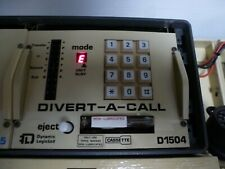 More details for gpo strowger exchange divert a call unit and tape testing ok announcement