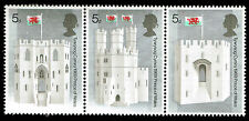 Scott # 597A - 1969 - ' Prince of Wales ' Strip of 3, #595-597