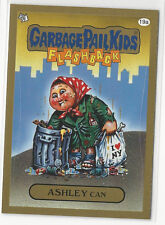 Ashley Can 2014 Topps GARBAGE PAIL KIDS Flashback Series 3 Gold Card #19a