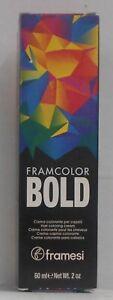 FRAMESI ~ Framcolor BOLD ~ Professional Permanent Cream Hair Color ~2 fl oz!!