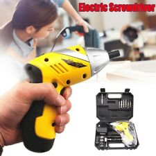 Mini Cordless 4.8V Rechargeable Electric Screwdriver Power Drill Tool Kit