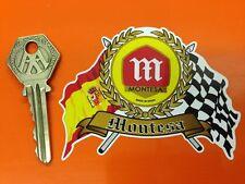 MONTESA Flags Scroll helmet Moto X motorcycle sticker