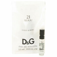 10 PACK Dolce & Gabbana Le Fou 21 Vial 0.05 oz EDT SPRAY for Men