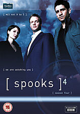 Spooks - Series 4 - Complete (DVD, 2011, Box Set)