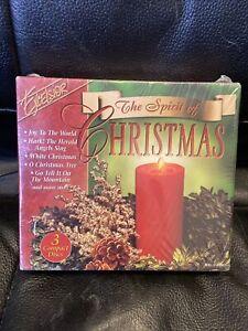 New Starlite Orchestra & Singers. The Spirit Of Christmas Music 3 CD's Box Set