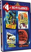 MAN FROM PLANET X*TIME TRAVELLERS*BEYOND THE TIME BARRIER*ANGRY RED PLANET DVD