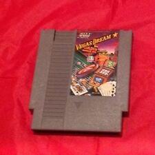 NES Nintendo Game VEGAS DREAM Original