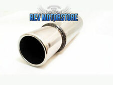 "6"" x 14"" x 3""  Exhaust Backbox Stainless Steel Jap Style Silencer Japcan 3"" Tip"