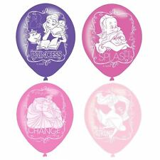 6 officiel Disney Princesse conte rose Ballons de fêtes latex décoration Filles