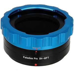 "Fotodiox PRO Lens Adapter B4 (2/3"") ENG Cine Lens to Micro Four Thirds Camera"