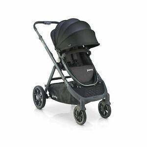 Joovy Qool Stroller Travel System Premium Stroller Black Melange