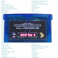GBA SMS 106 in 1 jeux Sega Master System pour Game Boy Advance SP NDS Multicart