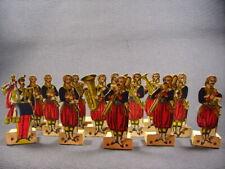 figurine carton musique ( Zouaves de la Garde impériale) soldats de Strasbourg