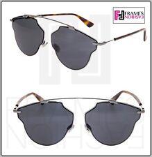 e5fda4024db CHRISTIAN DIOR SO REAL POP Ruthenium Black Havana Aviator Sunglasses SOREAL  POP