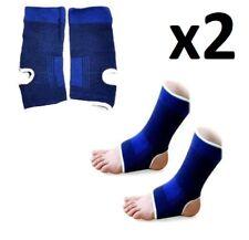 2 X Soporte De Tobillo De Neopreno Elástico Pies Protector cubierta de la pierna Brace