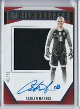 2016 Panini USA Soccer National Team ASHLYN HARRIS SILHOUETTES Jersey AUTO /75