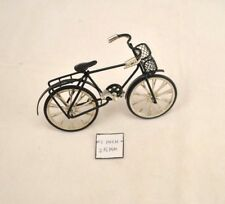 Bicycle Black - Metal - 1/12 Scale - G8140 - Dollhouse Miniature