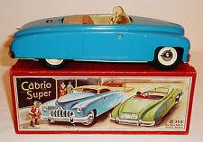KELLERMANN CKO Germany Tin Windup 1950s CABRIO SUPER FLIP TOP CONVERTIBLE + BOX