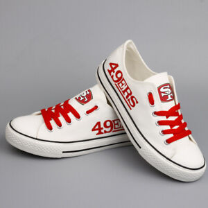 SAN FRANCISCO 49ERS SF 49ers Womens Men's Sneakers Shoes Football Super Bowl LIV