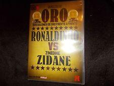 DVD Duelos De Oro Dos Balones Frente A RONALDINHO vs Zinedine ZIDANE Football