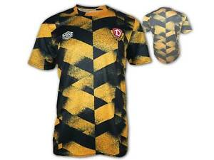Umbro Dynamo Dresden Warm Up Shirt 21 22 gelb SGD Aufwärmtrikot Jersey S - 3XL