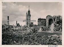 EVREUX 1940 - Bombardement - La Tour de l'Horloge - 6