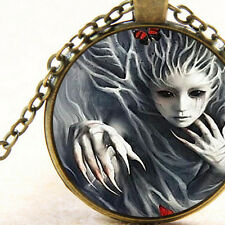 New Dryad Female Tree Nymph Spirit, Pendant Necklace, Ancient Greek Mythology