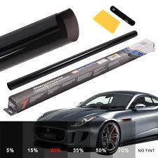 MEDIUM SMOKE BLACK 20% CAR WINDOW TINT 6M x 76CM FILM TINTING