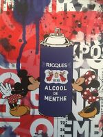 MISAKO Street Art signée Numérotée Mickey Art