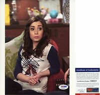 Cristin Milioti Signed 8x10 How I Met Your Mother Tracy McConnell PSA/DNA