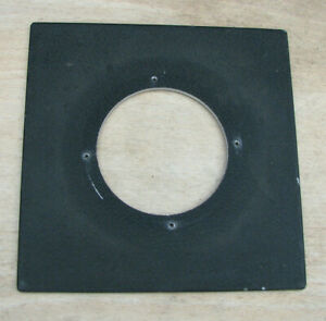genuine Sinar  F & P Norma fit  lens board panel with copal compur 3  hole 65mm