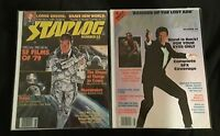 STARLOG #22 & 49 SF FILMS 90'S JAMES BOND 007 MOONRAKER FYEO ALIEN