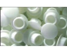 10  5/16 inch (8mm)  white window hole plugs, furniture, vinyl , 2-8mm-100-P