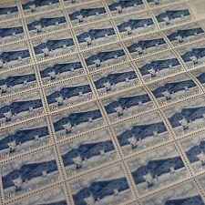 FEUILLE SHEET COMORES N°1 x50 BAIE D'ANJOUAN 1950 NEUF ** MNH