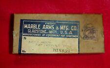 Vintage Original 1920-30's Marble Arms Gladstone Michigan Pocket Knife Box Case