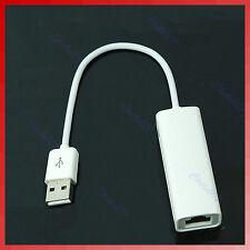 New USB 2.0 to RJ45 Lan Ethernet Adapter Fr Apple Mac Win7 XP Vista 10/100Mbps